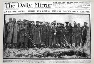 La tregua di Natale del 1914 e l'umanità in guerra