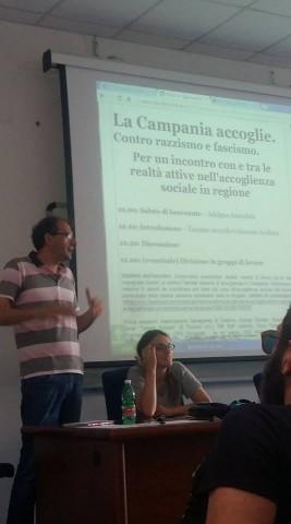 Campania accoglie